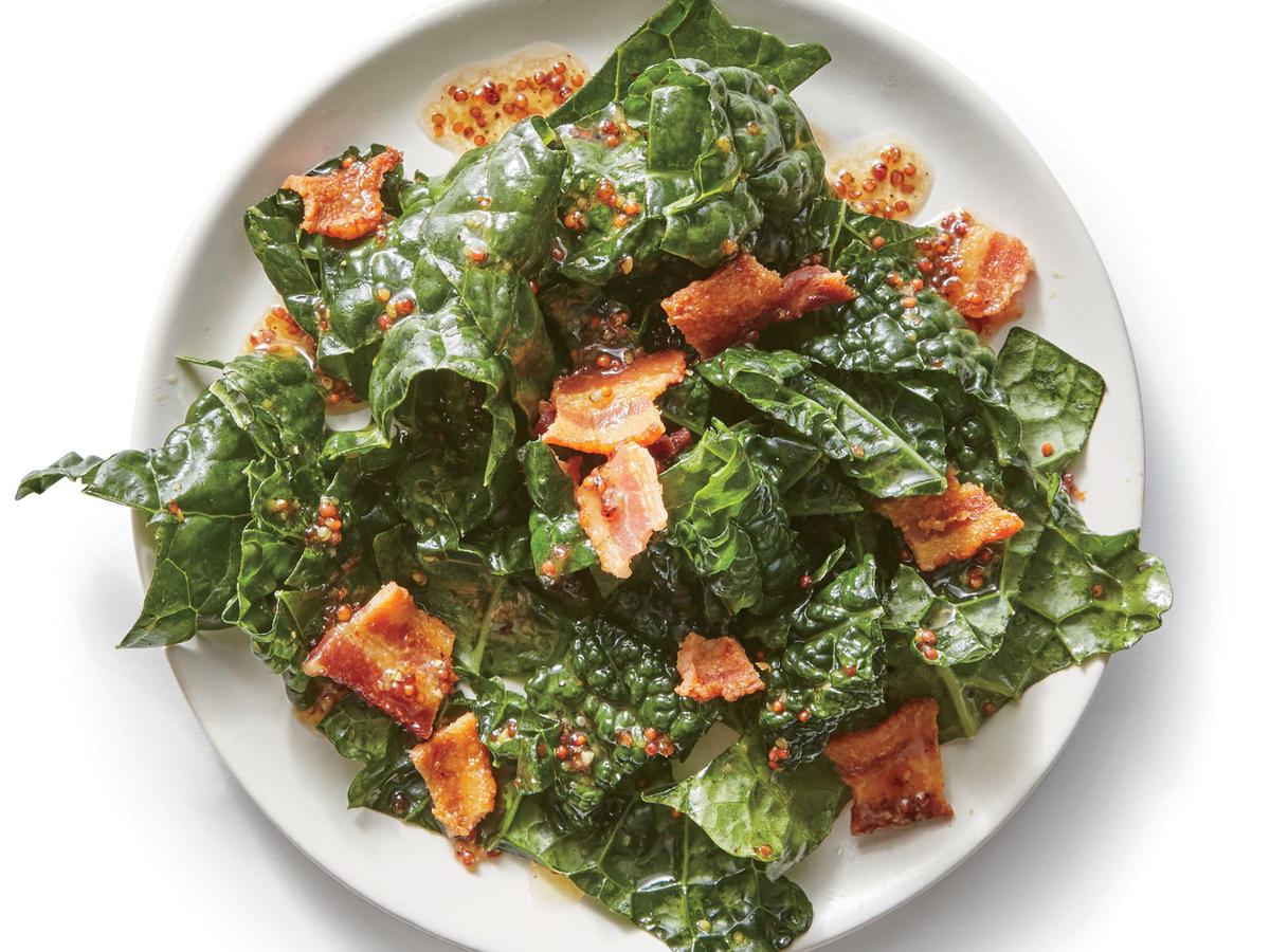 Maple-Bacon Kale Salad