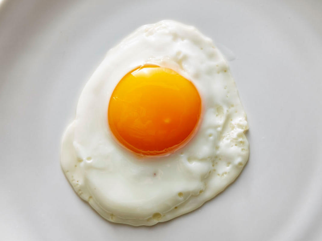 Pristine Sunny-Side Up Eggs Recipe | Cooking Light