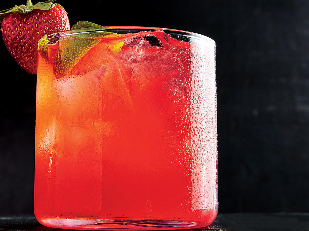 Happy Hour: Strawberry-Lime Rickey