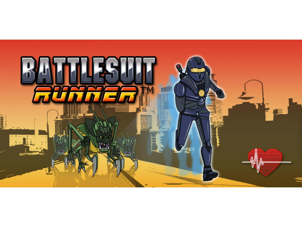 Battlesuit Runner Fitness App