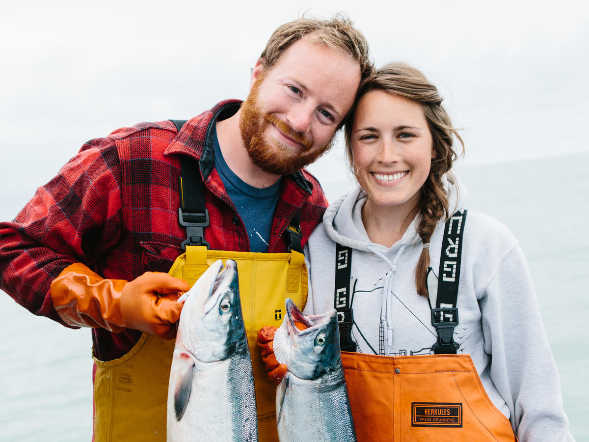 Michael and Nelly Hand Drigers Fishery Cooking Light 30 Faces of the New Healthy