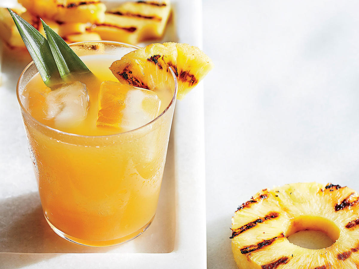 1704 Grilled Pineapple Lemonade - Sunday Strategist