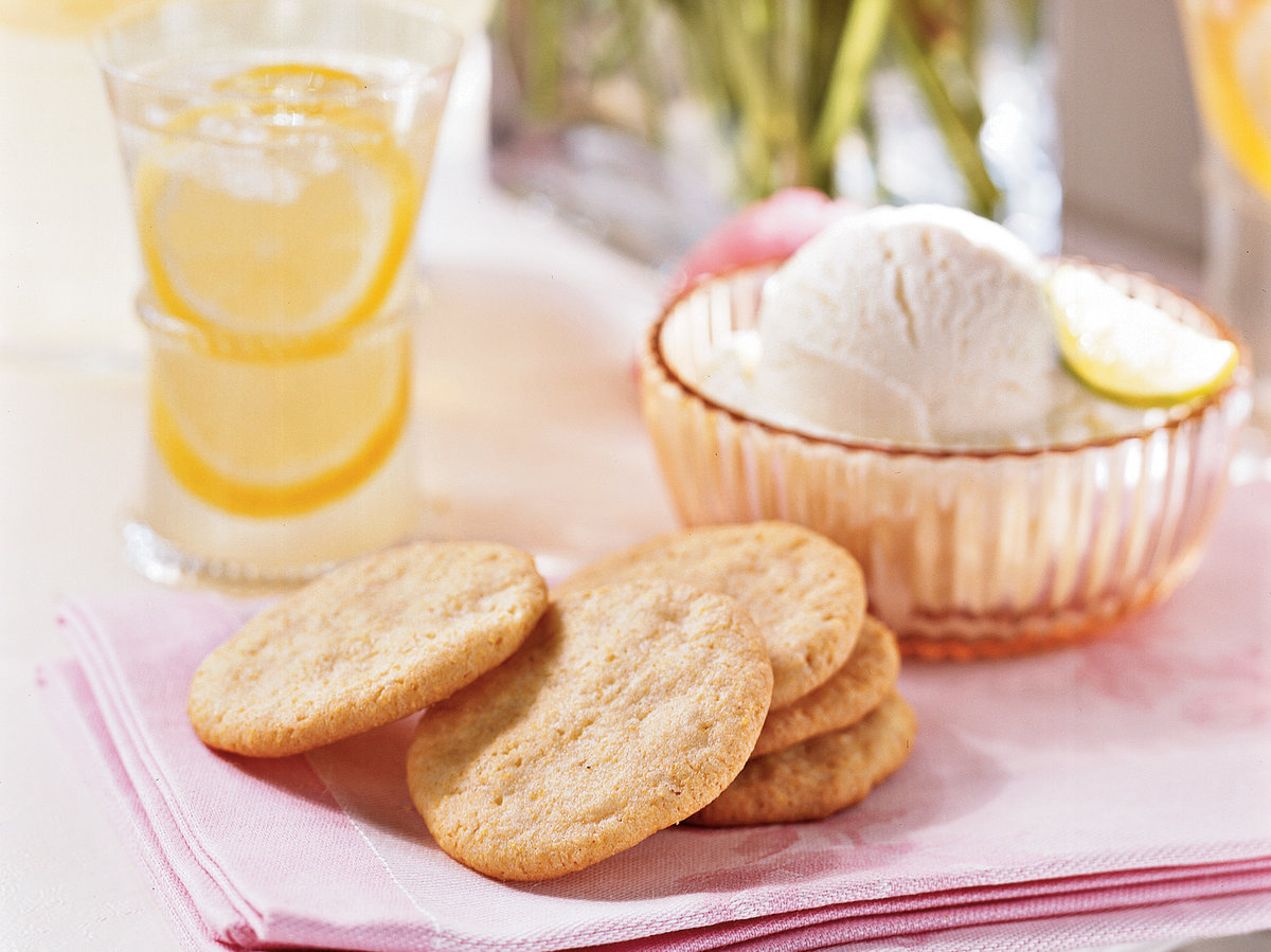 Lemon-Cornmeal Cookies
