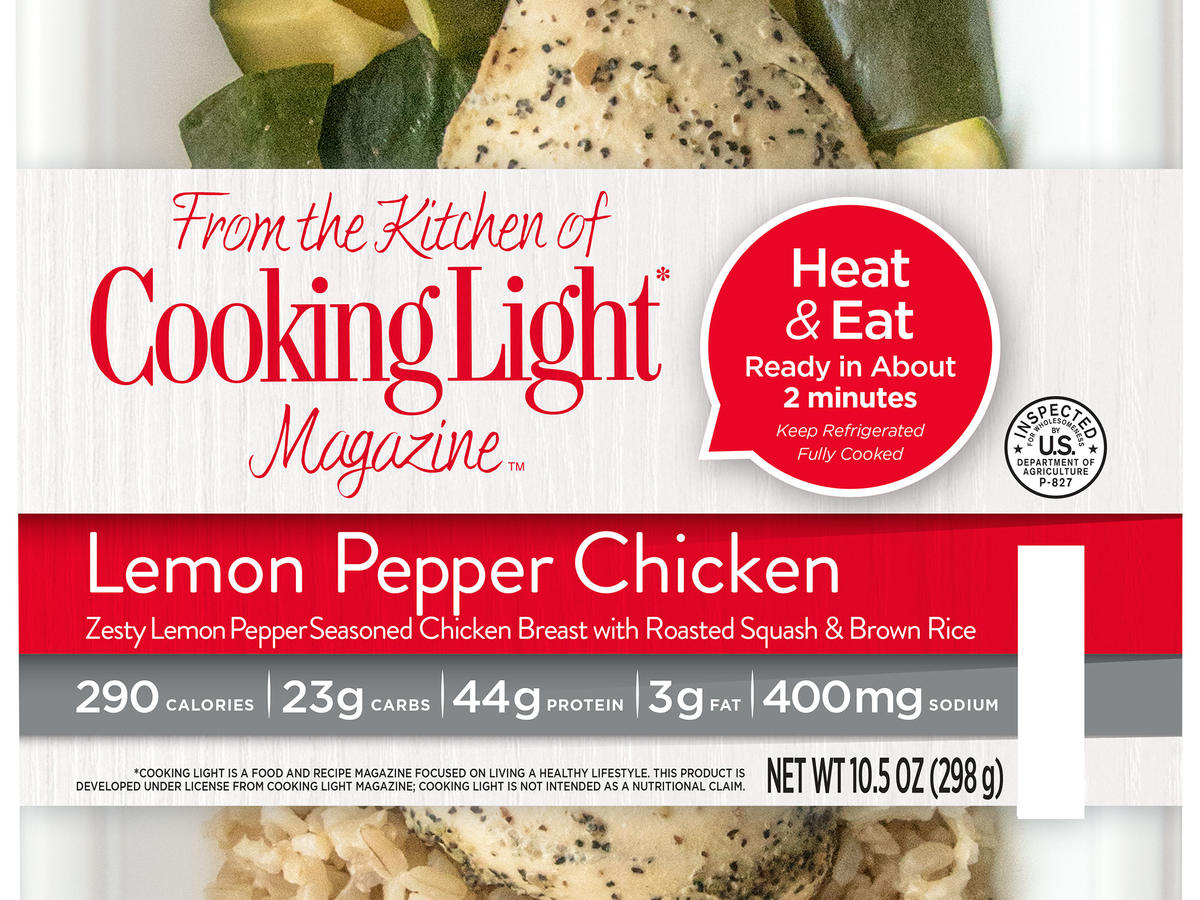 Perfect Fit Meals Lemon Pepper Chicken