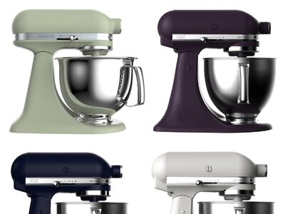 See KitchenAid's New Food-Inspired Stand Mixer Colors