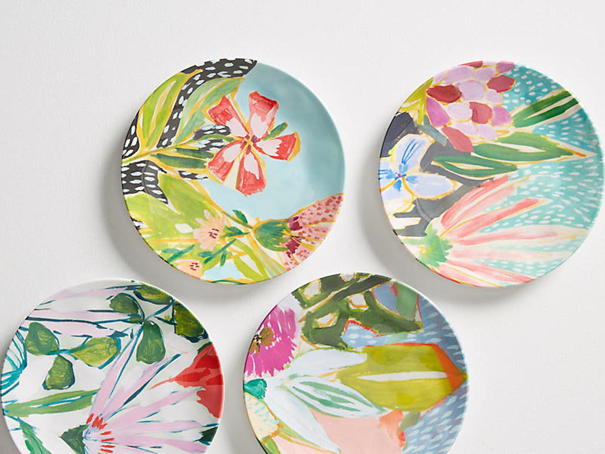 Lulie Wallace Canape Plate Set