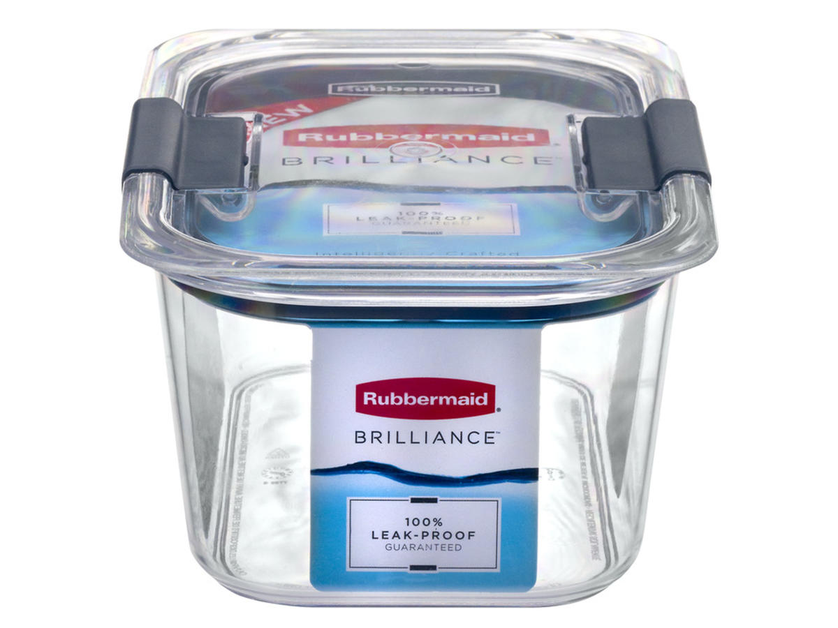 Rubbermaid Brilliance Medium Deep Container