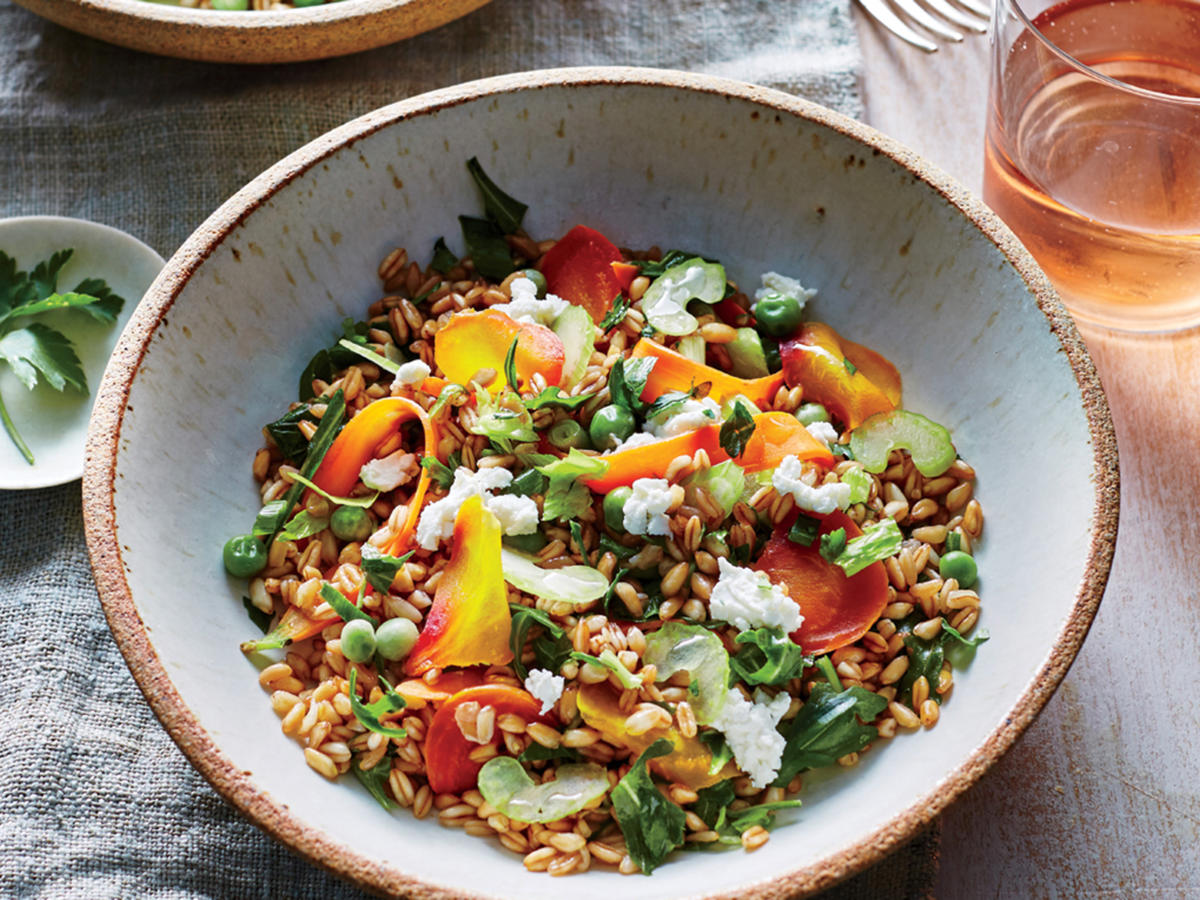 Spring Vegetable Grain Bowl