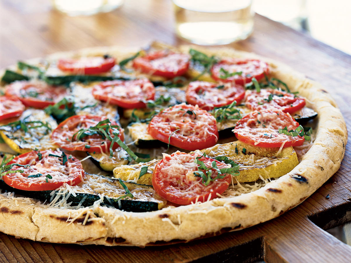 Summer Squash Pizza
