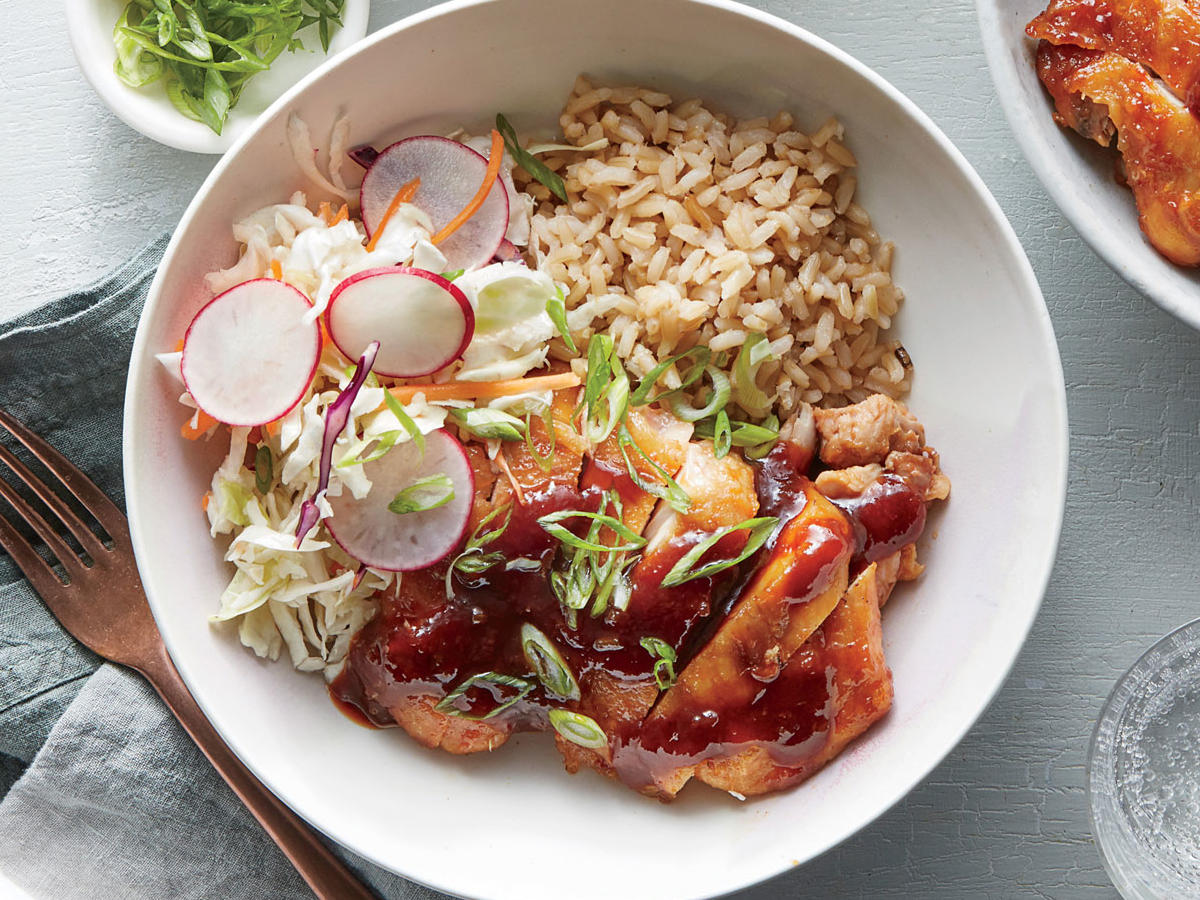 Sweet-and-Sour Chicken Bowl