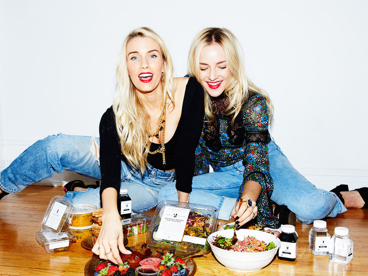 Whitney Tingle and Danielle DuBoise Sakara Cooking Light 30 Faces of the New Healthy