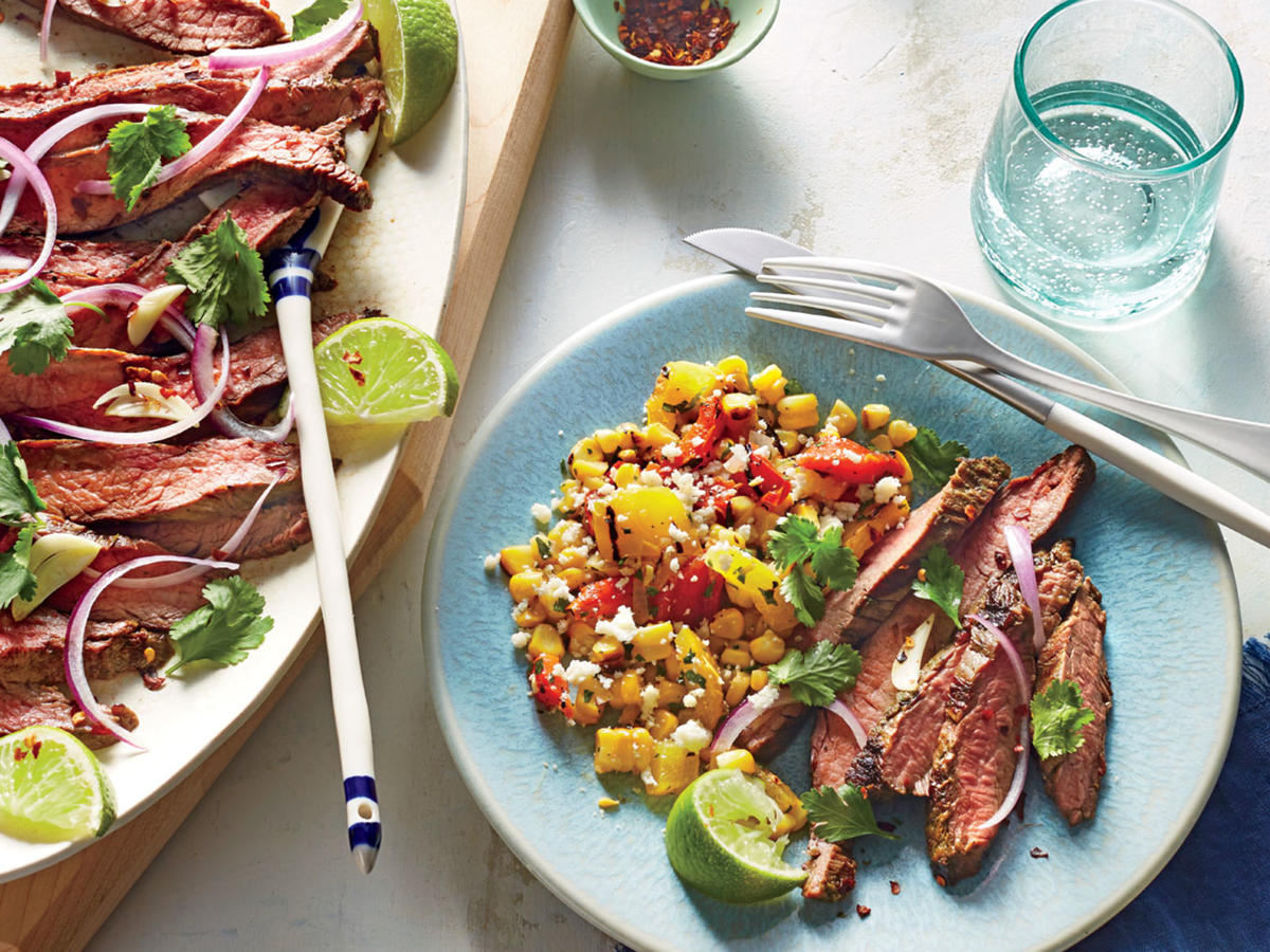 Grilled Chile-Lime Flank Steak- Sunday Strategist