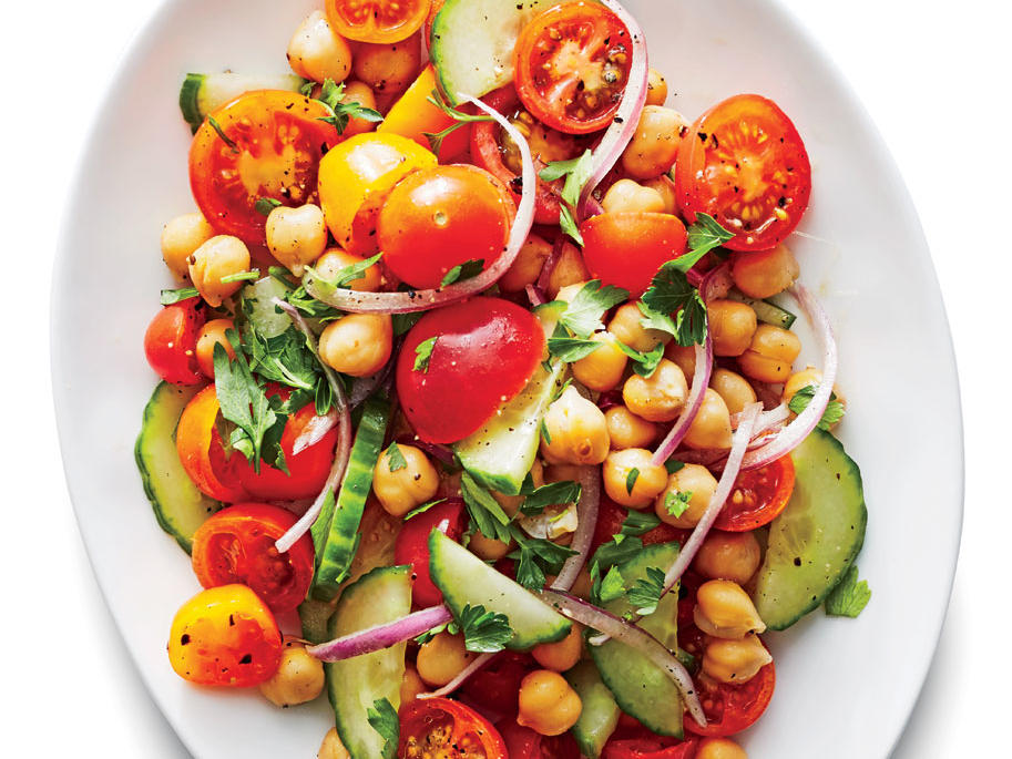 Summery Chickpea Salad