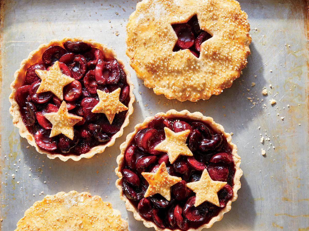 1707 Sweet-and-Sour Cherry Tartlets - Sunday Strategist