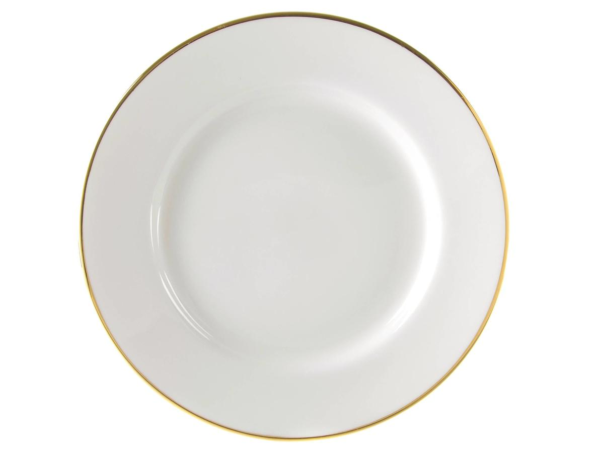 10 Strawberry Street Gold Line Charger Plate Set of 4