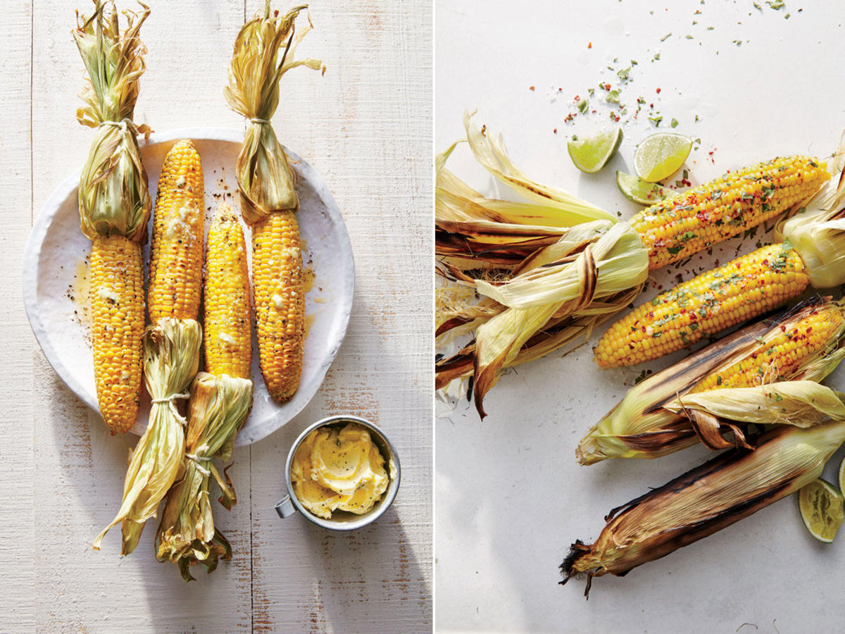 Smoked vs Grill-Steamed Corn