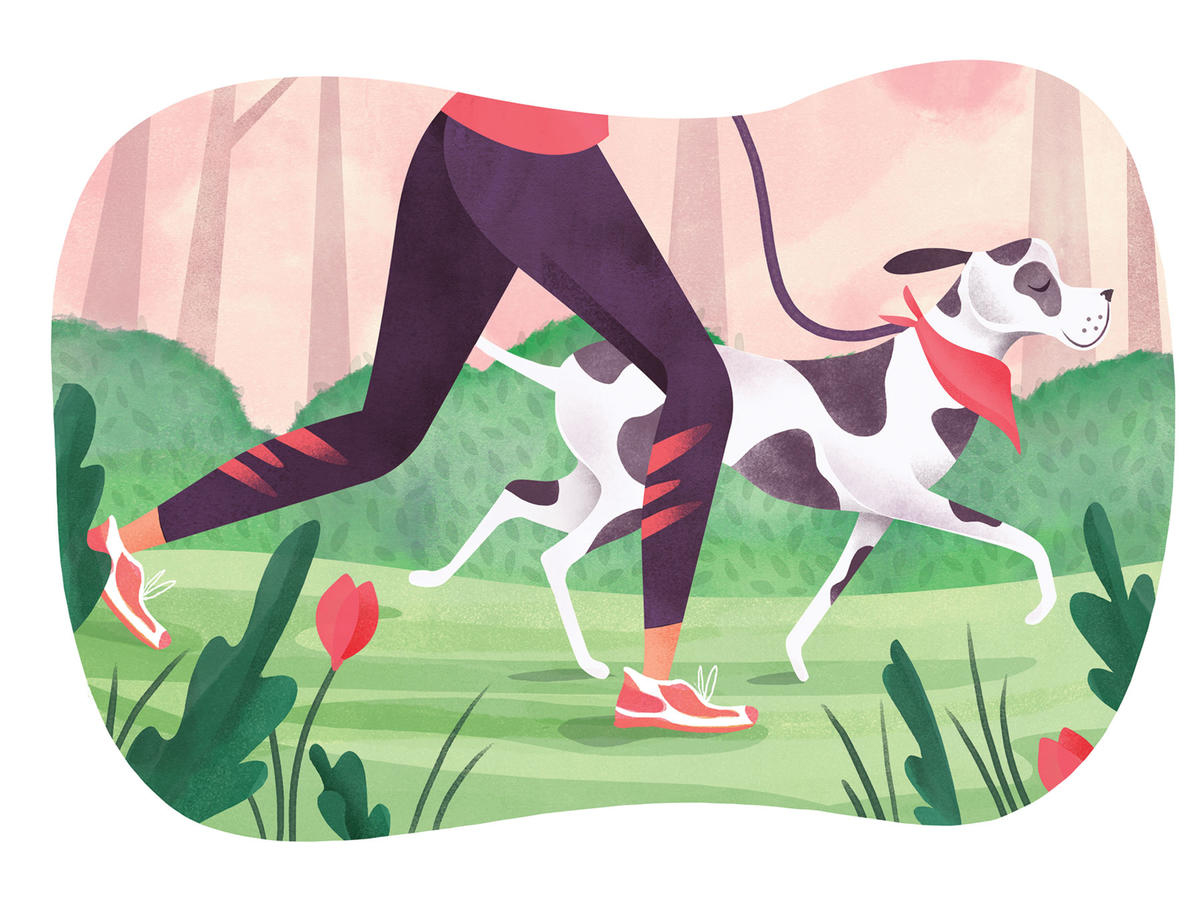 Exercising with Pets