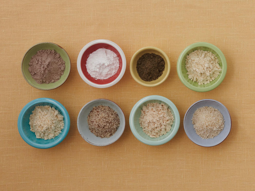 Gluten-Free Baking: Grains, Flours, and Starches