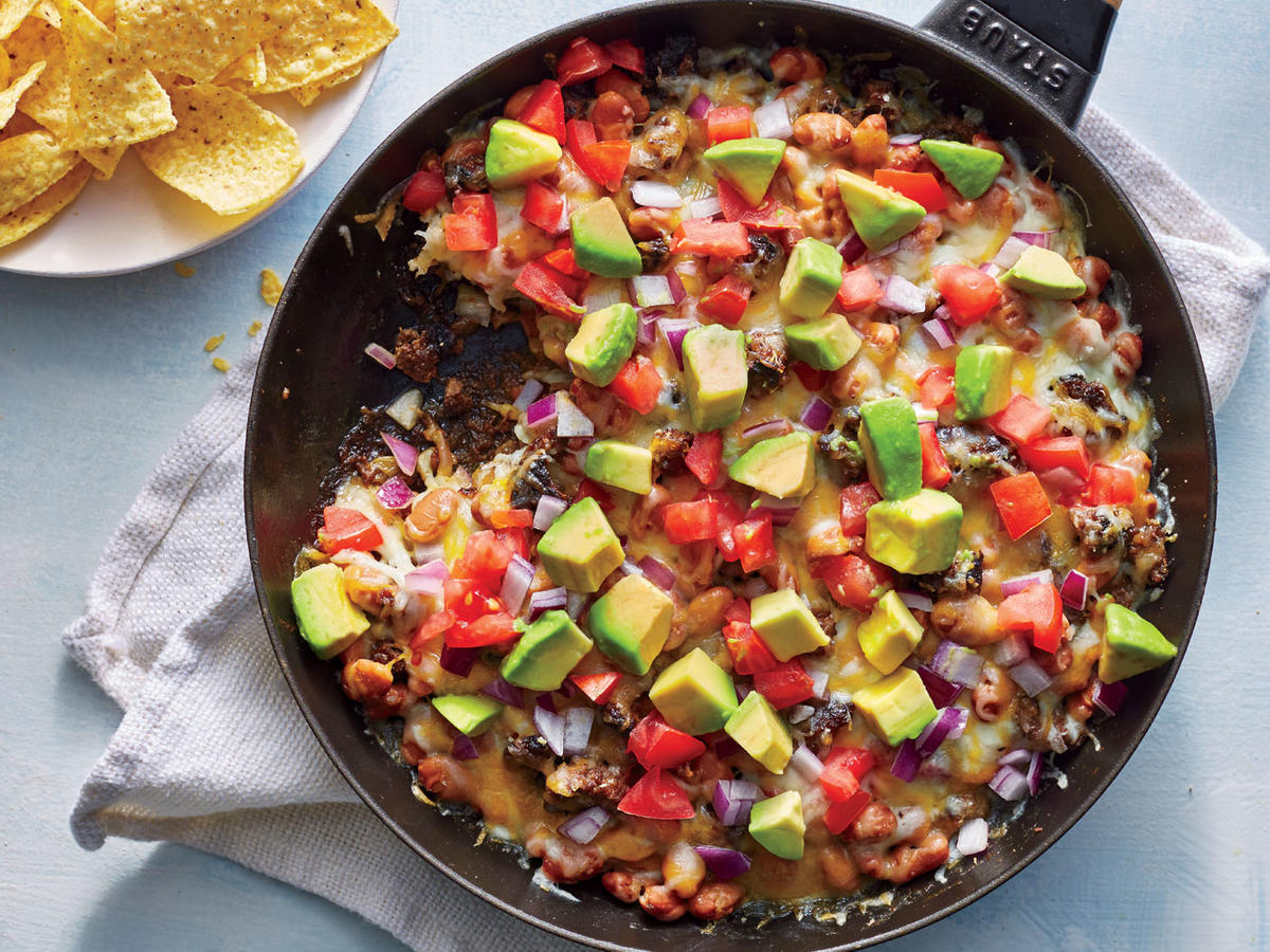 Thursday: Skillet Nacho Dip