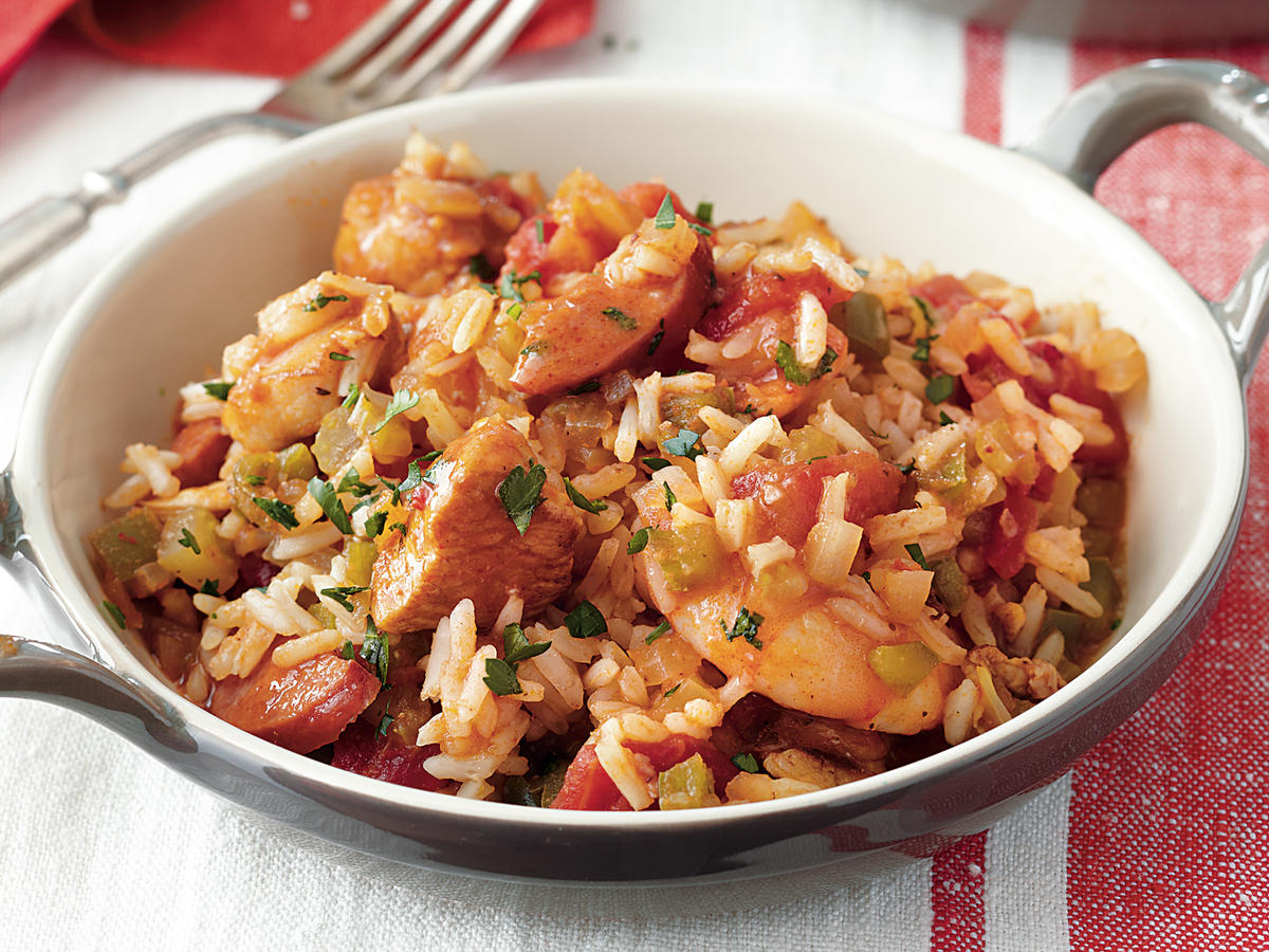 Chicken and Shrimp Jambalaya Recipe