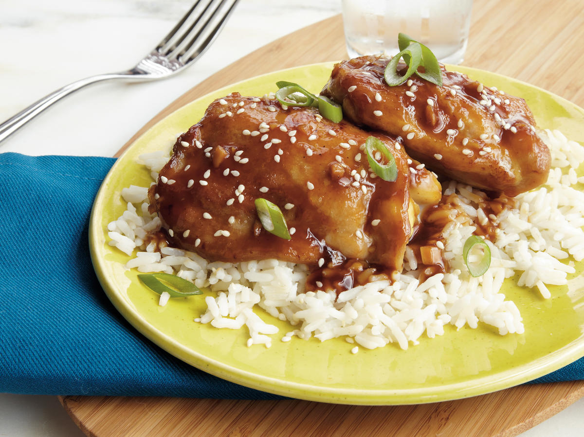 Sesame-Ginger Chicken Recipe