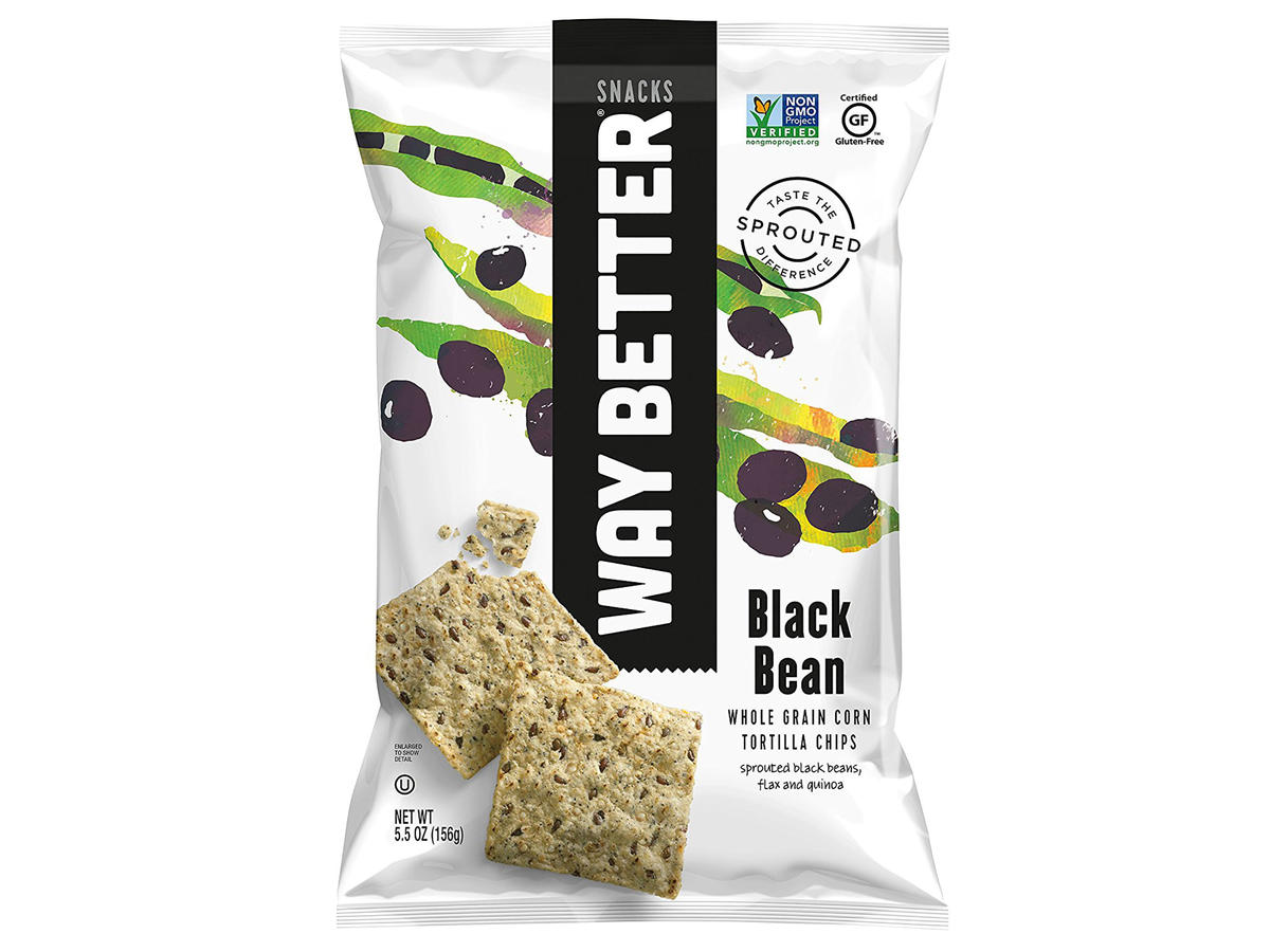 Way Better Snacks Black Bean Tortilla Chips