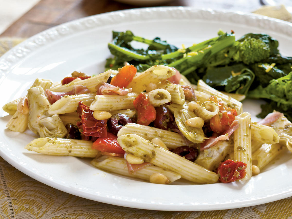 Healthy Dinner Recipe: Antipasto-Style Penne