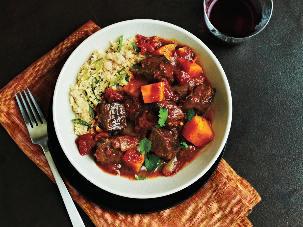 7. Beef Tagine with Butternut Squash