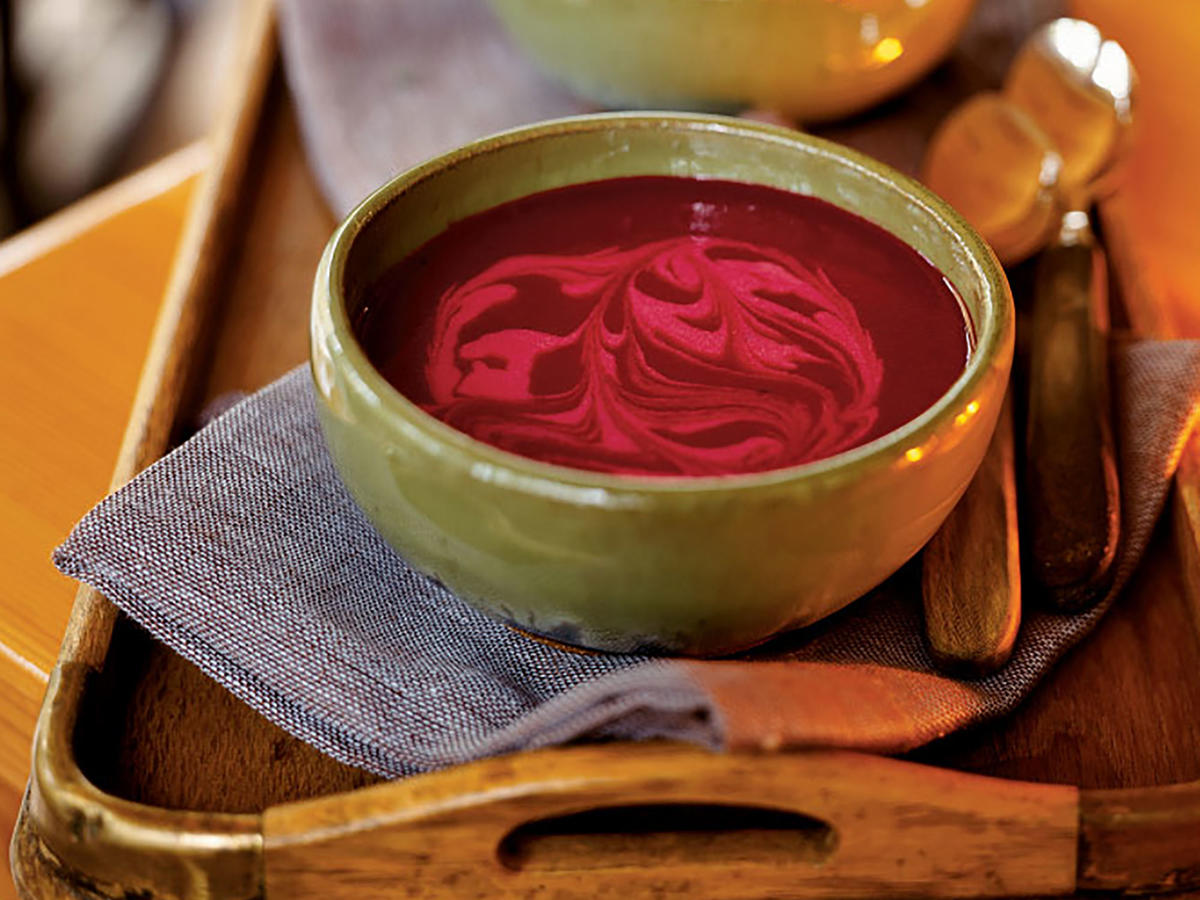 Healthy Savory Beet Soup Recipe