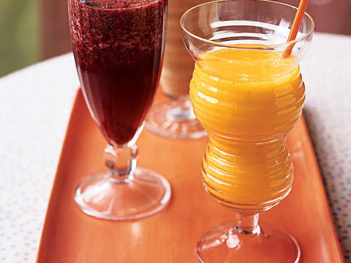 Three Quick and Healthy Fruit Smoothies