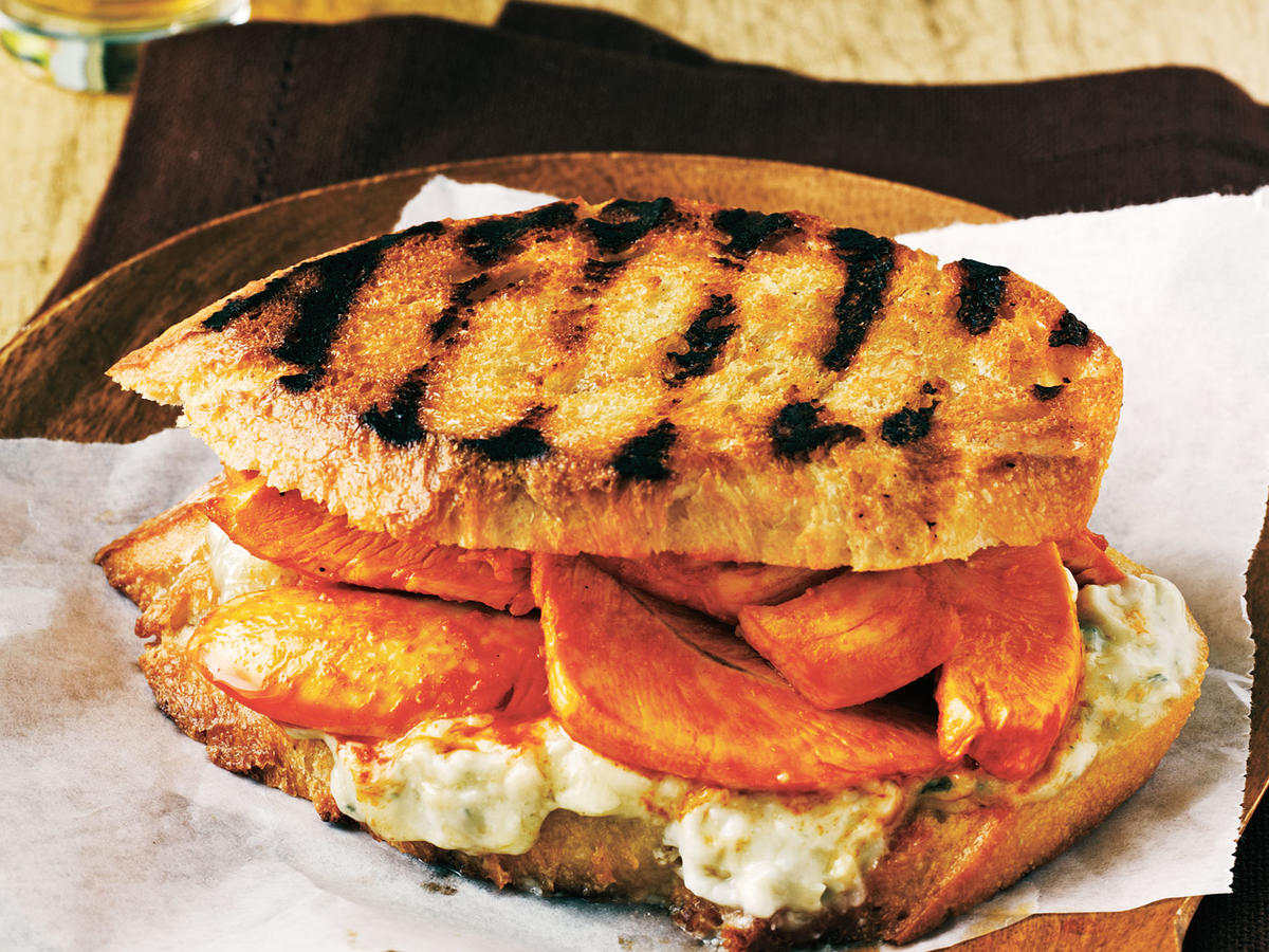 Buffalo Chicken Panini
