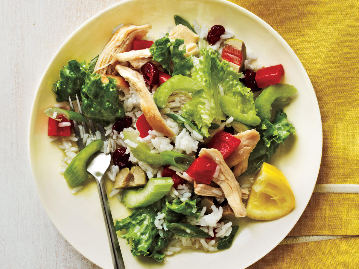 Cold Chicken and Rice Salad Budget Cooking Recipe