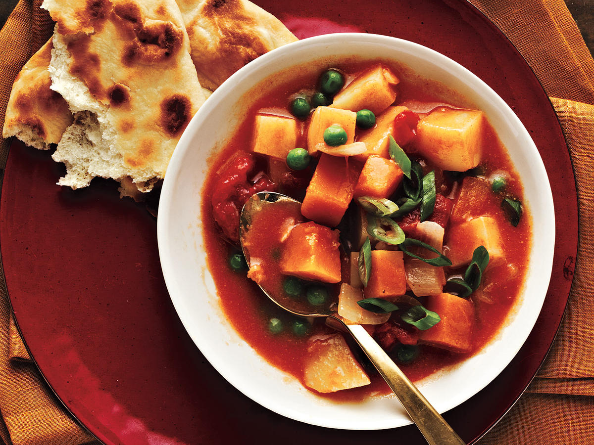 Curried Potatoes and Squash Recipes