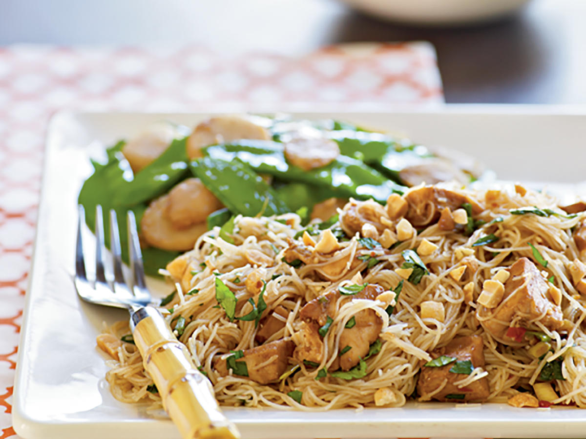 Spicy Asian Noodles with Chicken Recipes