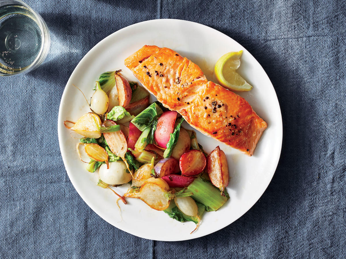 Thursday: Fast Pan-Fried Salmon
