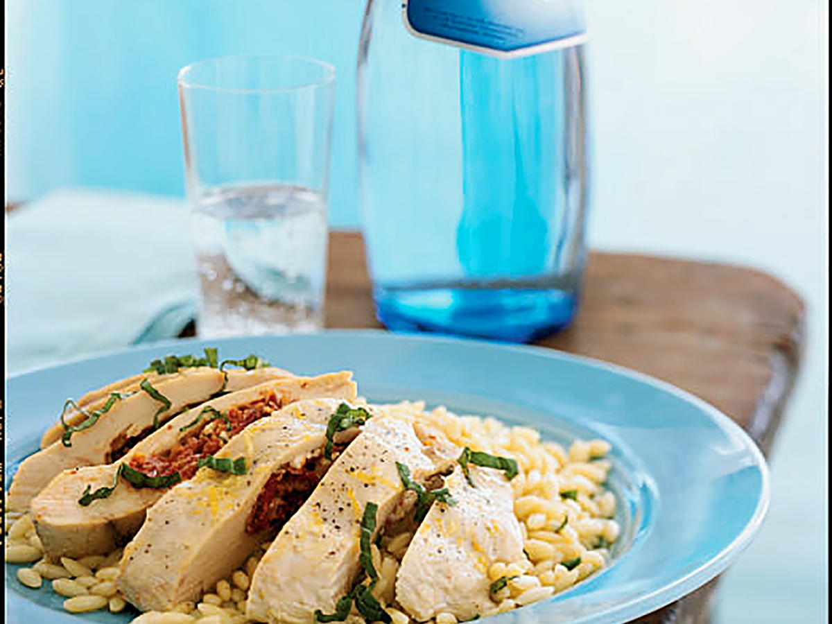 Feta, Herb, and Sun-Dried Tomato-Stuffed Chicken Recipes