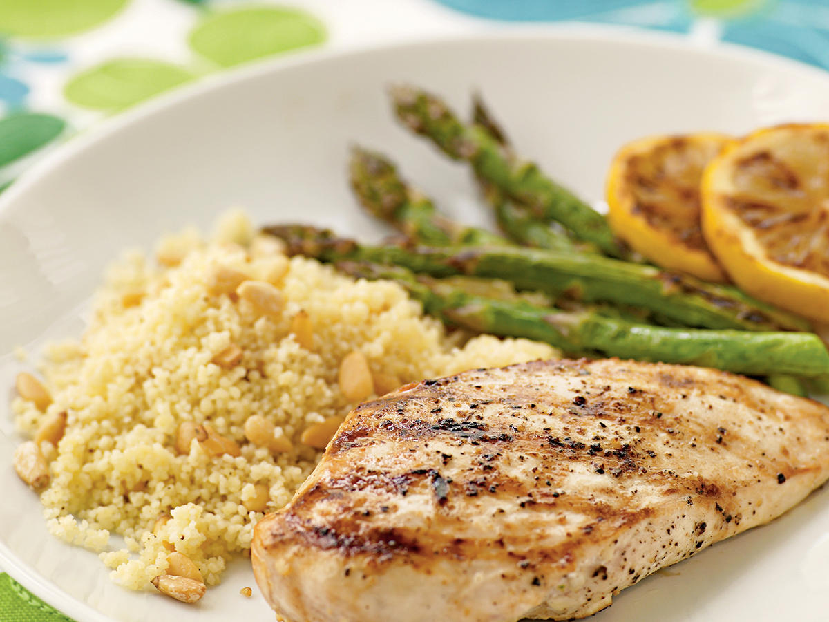 Lemon-Grilled Chicken Breasts Recipes