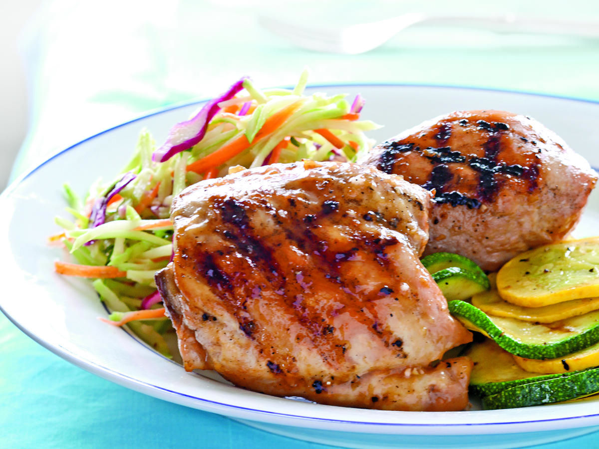 Apricot-Glazed Grilled Chicken Recipes
