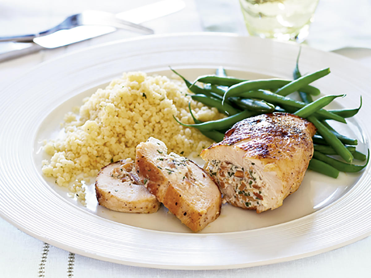 Herbed Stuffed Chicken Breasts Recipe