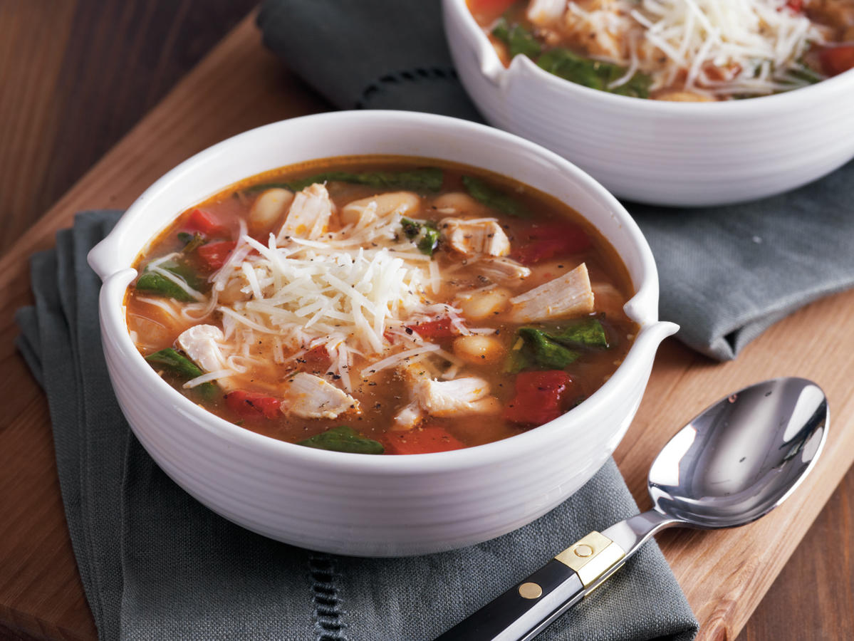 Tuscan Chicken Soup Recipe
