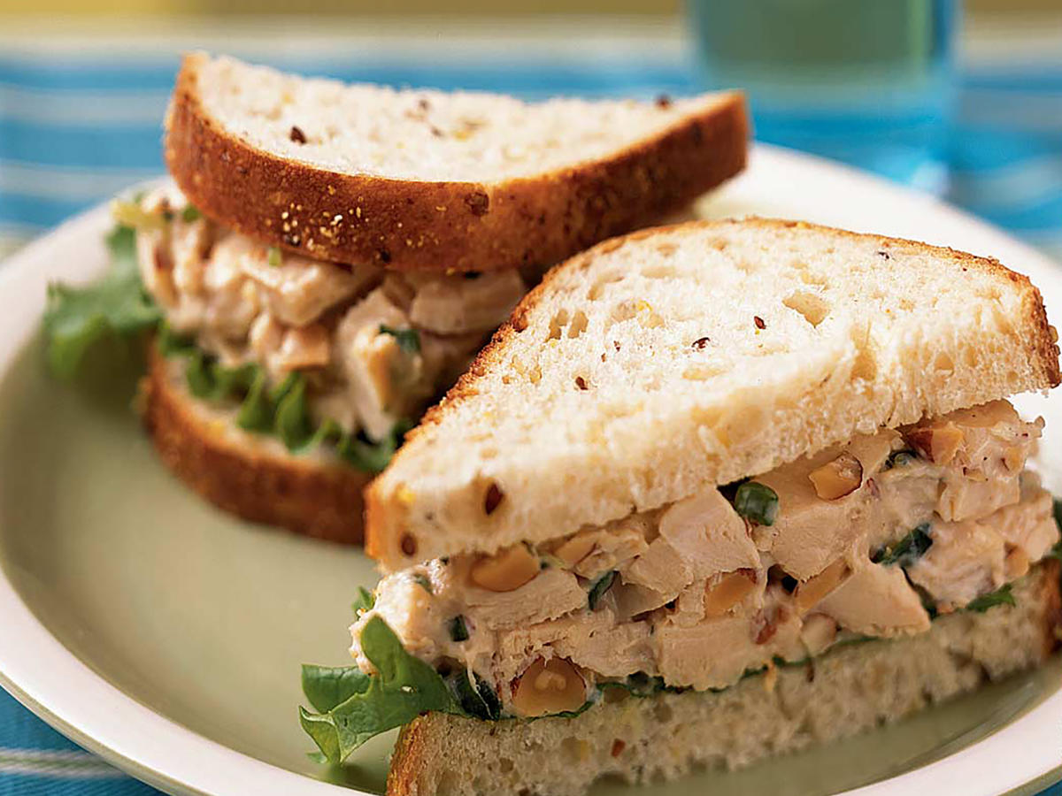 Rosemary Chicken Salad Sandwiches Recipes