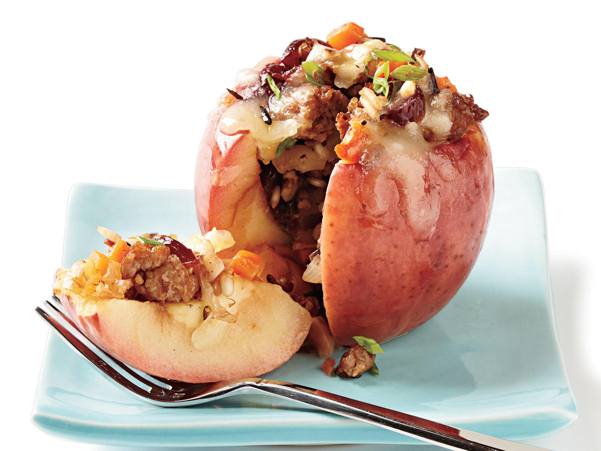 Savory Baked Apples Budget Cooking Recipe