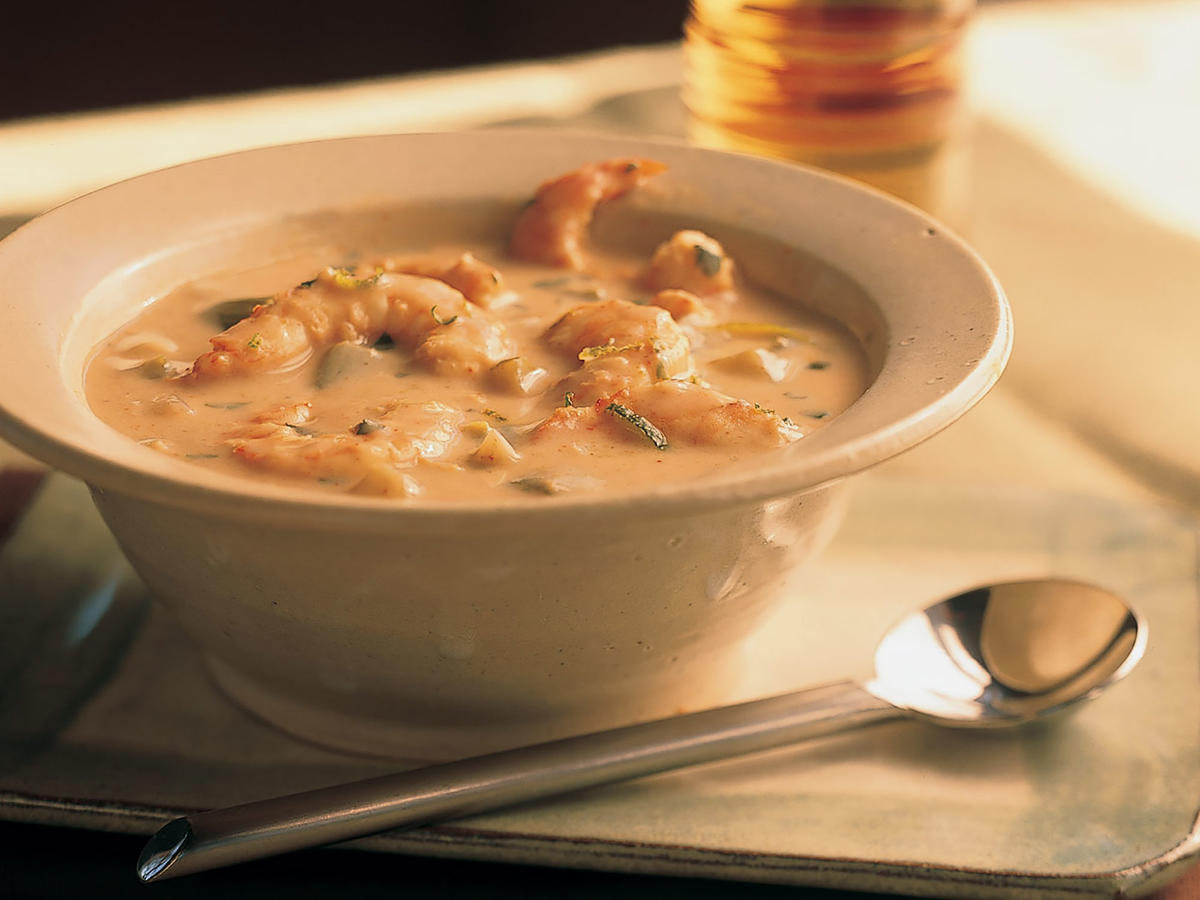 Healthy Thai Shrimp Bisque Recipe