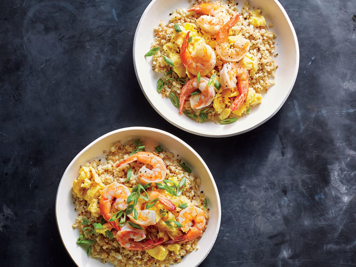Shrimp Fried Cauliflower Rice Recipe Cooking Light