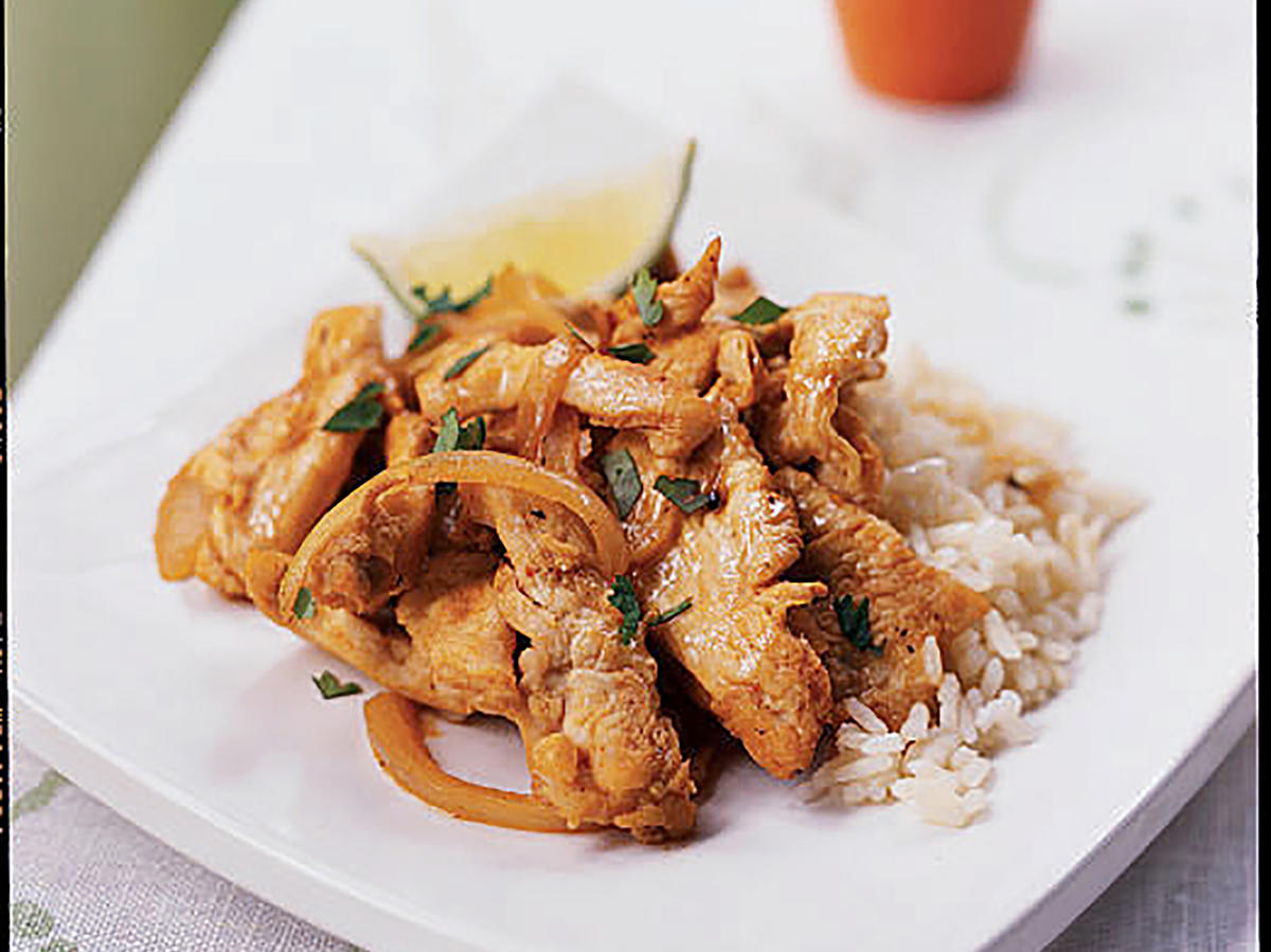 Thai Chicken Sauté Recipe