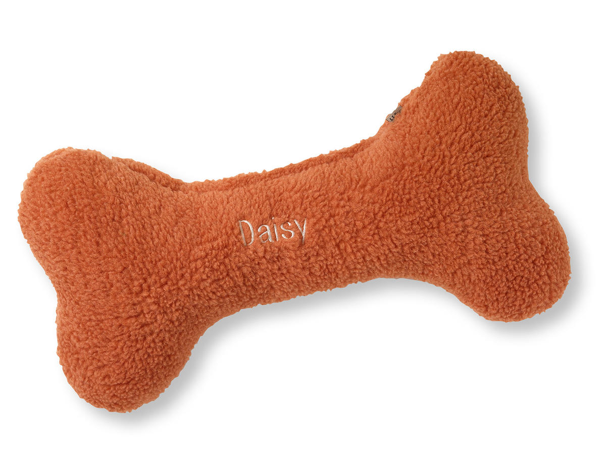 LL Bean Dog Bone Pillow