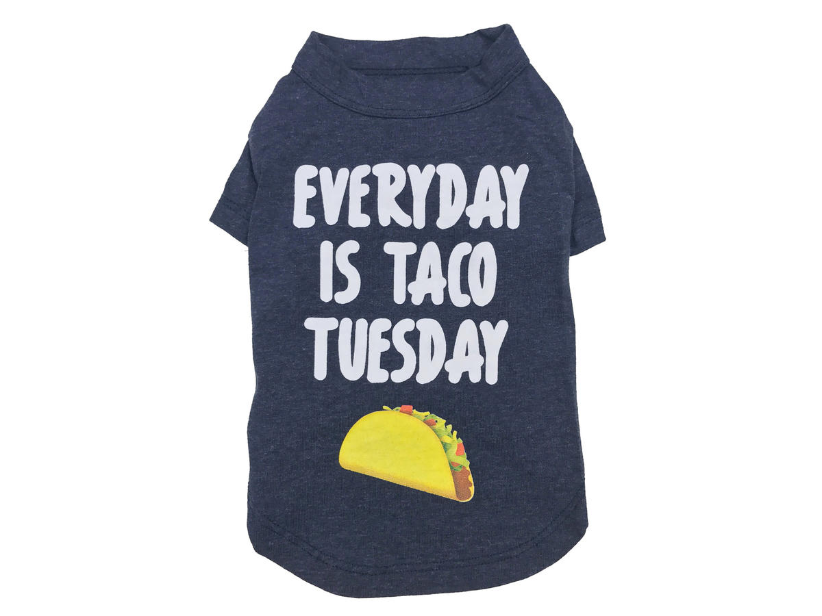 Taco Tuesday Dog Shirt