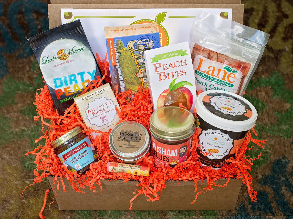 Georgia Peach Deluxe Gift Box