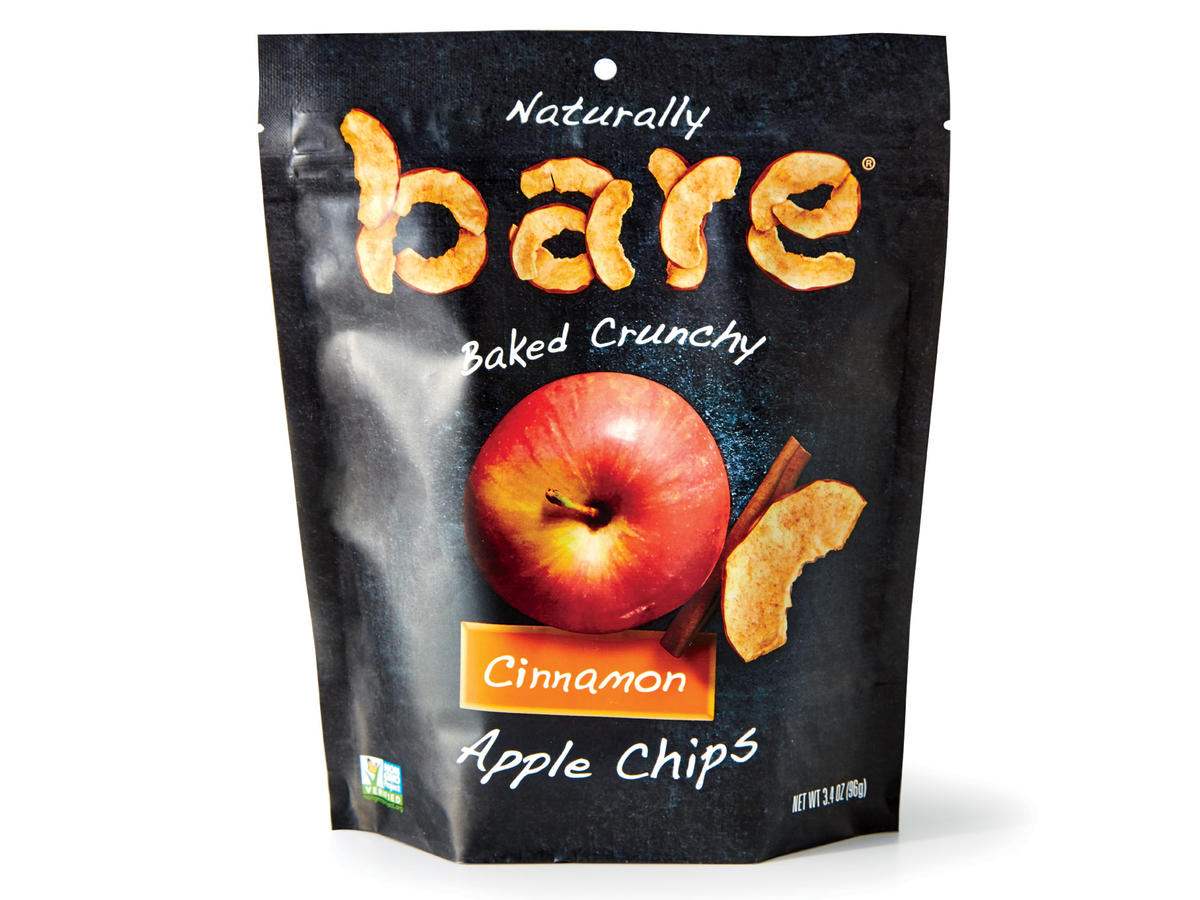 Bare Apple Chips (Cinnamon)