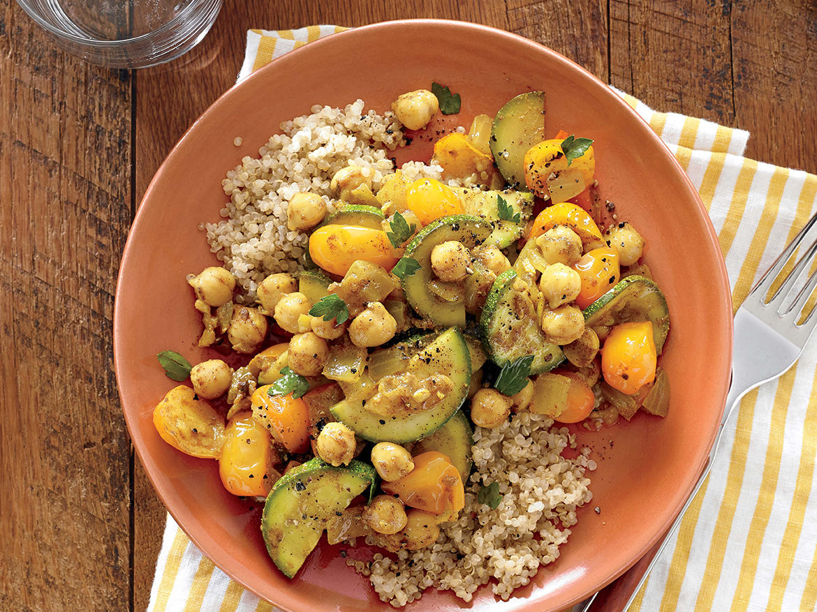 1407 Chickpea and Vegetable Tagine